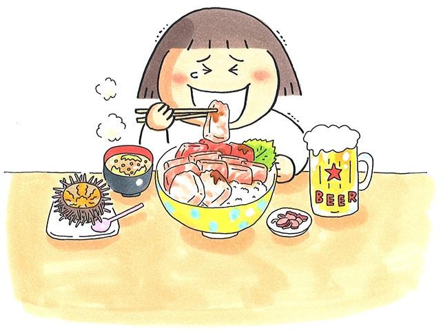 いつもは適当自炊にワクワク外食。たまに買い食い、旅ごはんも大好き!