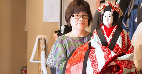 第7回高校生直木賞受賞『渦 妹背山婦女庭訓 魂結び』大島真寿美さんトークショー