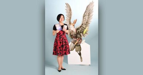 八咫烏シリーズ100万部突破記念キャンペーン第1弾 「雪哉と一緒に写真を撮ってプレゼントをもらおう!