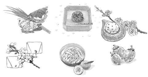 甘いもんでもおひとついかが? 人気シリーズ藍千堂菓子噺から看板菓子のご紹介