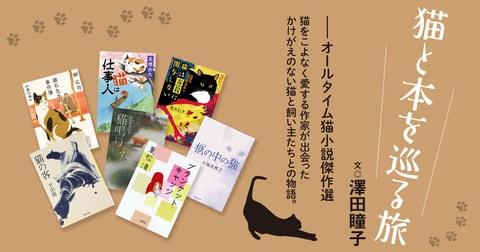 澤田瞳子さんが選ぶ10冊【猫小説傑作選】
