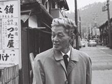 〈日本の顔〉連載第一回は小林秀雄