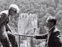 司馬遼太郎と江藤 淳が訪れたドイツの古城