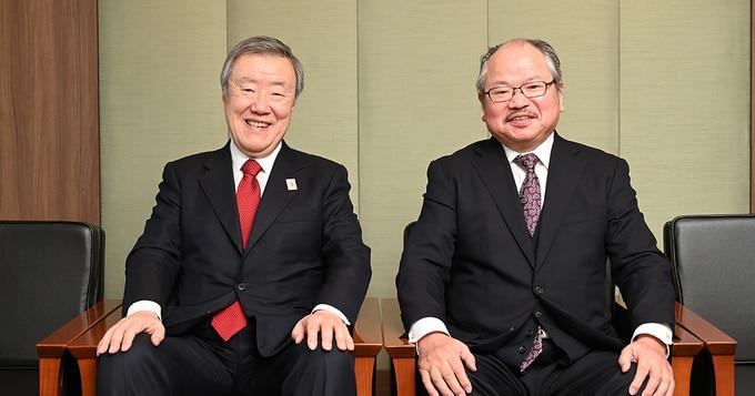 <対談>安部龍太郎×出口治明「日本史を知るには、世界史を学べ」