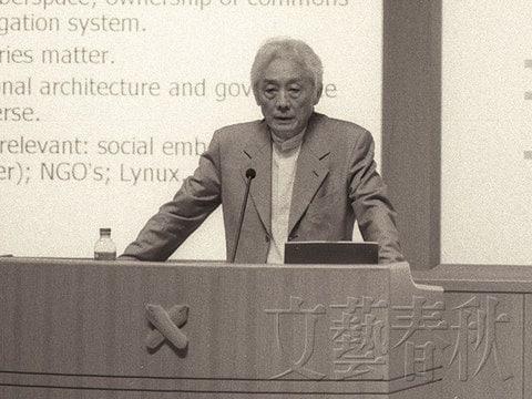 学生運動から転向して経済学の世界的権威となった青木昌彦