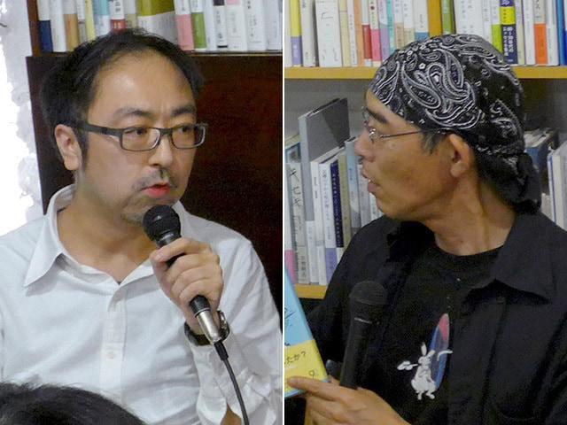 吉村萬壱×長嶋有「13年目の同窓会」あえて取材しないで書く理由