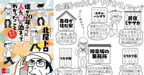 『僕が20年ぶりに人ん家に泊まってわかったこと 東京民泊エッセイ』北尾トロ――立ち読み
